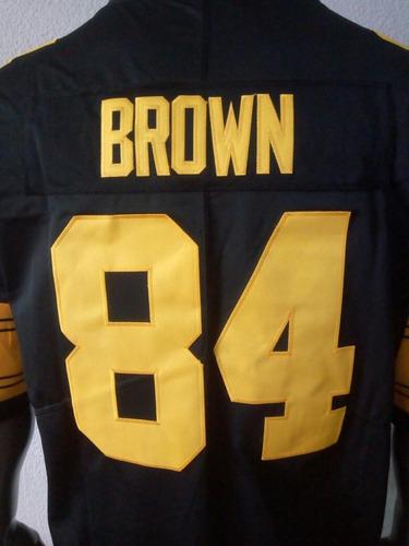 66920a8c9 Antonio Brown Steelers  84 Jersey Color Rush Talla 3xl -   1