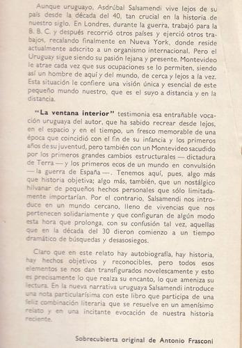antonio frasconi arte de tapa libro asdrubal salsamendi 1963