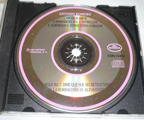 antonio romero cd musica mexicana