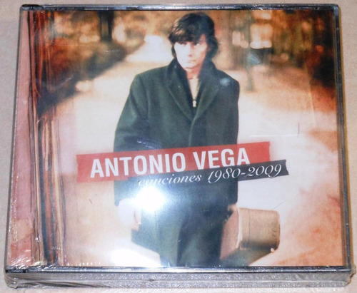 antonio vega box set 2cd+1dvd canciones 1980-2009 ed. españa