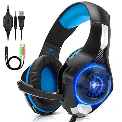 Antopm Pc Gaming Headset Para Ps4 Xbox One Vr Surround Sound