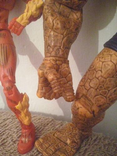 antorcha humana mole 4 fantasticos marvel legends