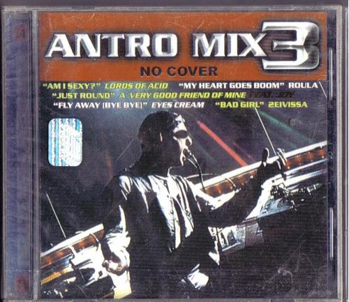 antro mix 3 cd  unica ed año 2000 en exc condiciones  bvf