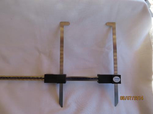 antropometro ( paquimetro ) 60 cm aluminio
