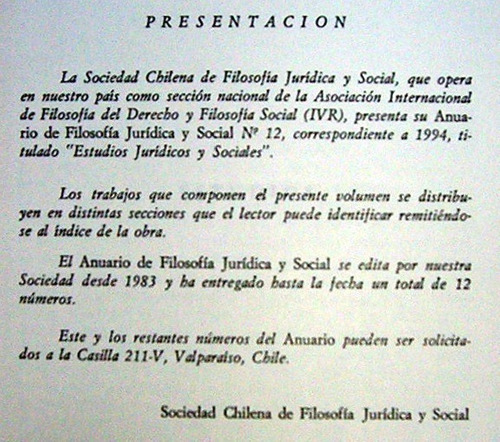 anuario de filosofia juridica y social 1994