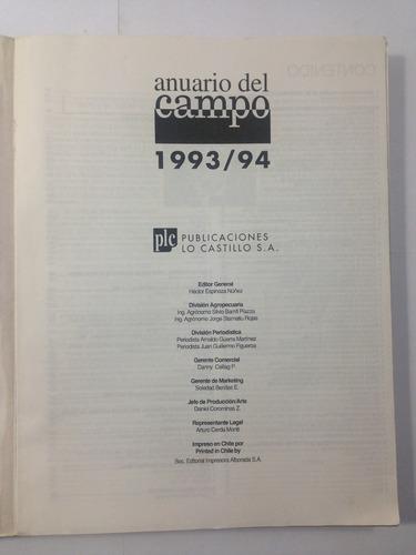 anuario del campo 1993 1994