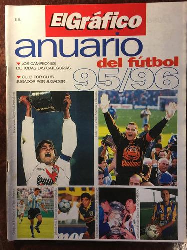 anuario del fútbol, el gráfico, año 95 96