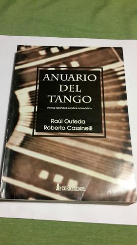anuario del tango raúl outeda roberto cassineli