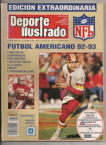 anuario nfl futbol americano dallas steelers seattle 92-93