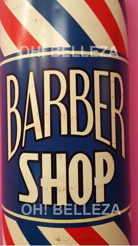 anuncio de barbería retro
