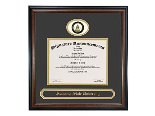 Anuncios De La Firma Alabama State University (asu) Marco De ...
