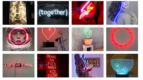anuncios luminosos neon led