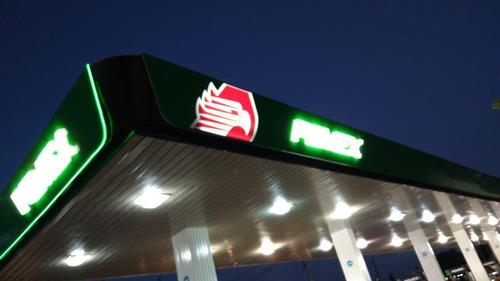anuncios luminosos para gasolineras o todo tipo de negocio