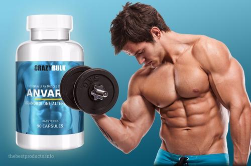 anvarol retencion de la masa muscular fuerza, energia