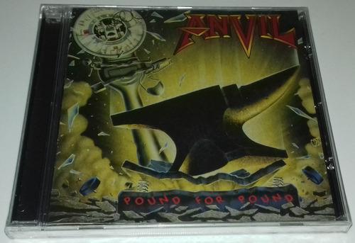 anvil - pound for pound (cd lacrado)