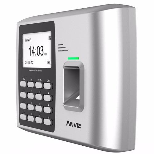 anviz a300 control reloj horario personal asistencia huella