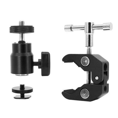 anwenk ball head clamp camera ball mount wmp 1-4 -inch-20 tr