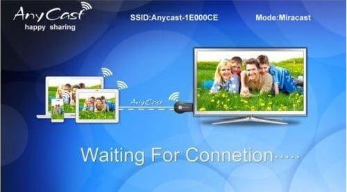 anycast duplicador de pantalla de tu celular al tv smart tv