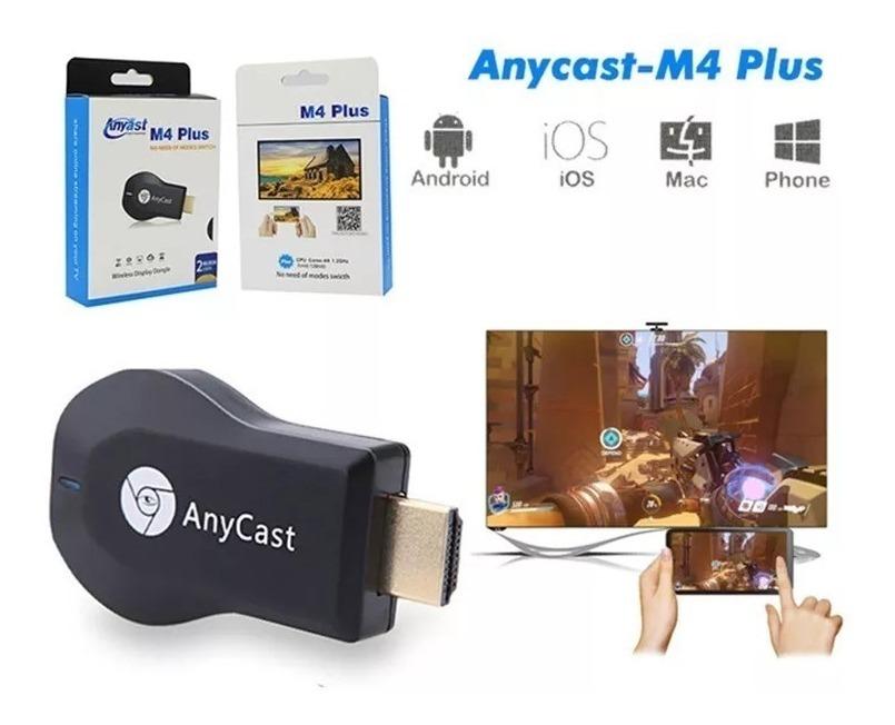 Anycast M4 Plus Smart Tv Wifi Inalambrico Hd 1080p Original