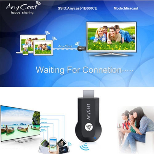 anycast receptor hdmi wifi tv miracast dlna airplay