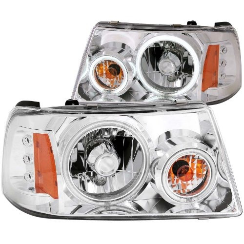 anzo usa 111151 ford ranger 1 pieza proyector halo chrome cl