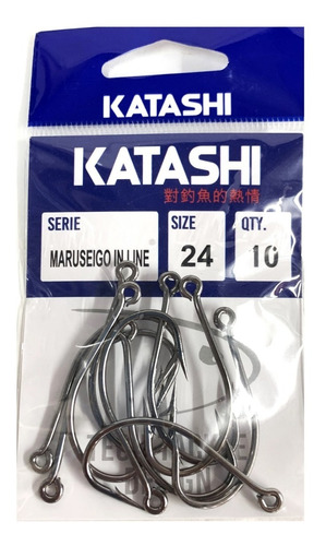 anzuelo katashi maruseigo 24 in line ojal recto señuelos 10u