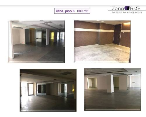 anzures, oficinas desde 149m2 hasta 600m2 con aire acondicionado