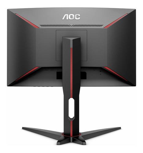 aoc c27g1 27plg monitor de juegos sin marco curvo fhd 1920x1