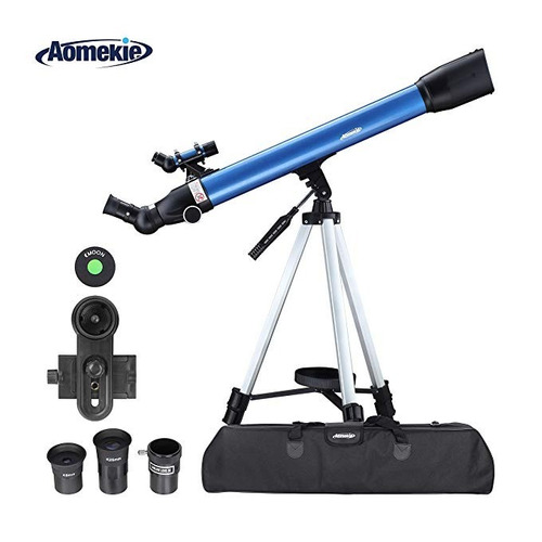 aomekie telescopio p/ kids adults y astronomy beginners  0m