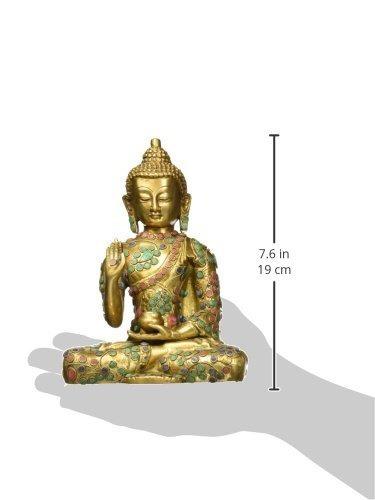 aone india estatua de buda turquesa hindú escultura de lat
