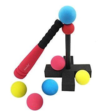 aoneky mini espuma tball conjunto para niños pequeños - co