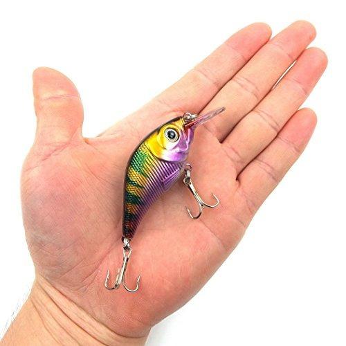 aorace 10pcs / lot pesca de los señuelos de pesca señuelo c