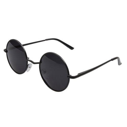 3eb88be654 Aoron Vintage Gafas De Sol Redonda Con Lentes Polarizadas ...