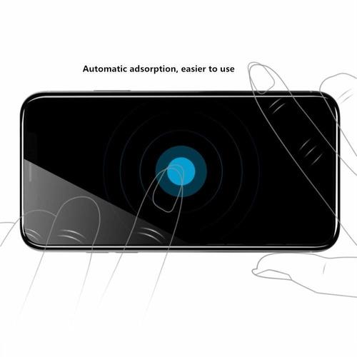 aothing protector de pantalla para iphone xs max borde curvo