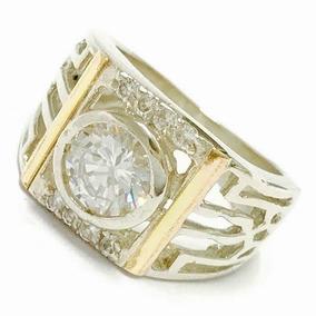 0a93dd5a37b5 Anillo Diamante Oro Y Plata - Anillos en Mercado Libre Argentina