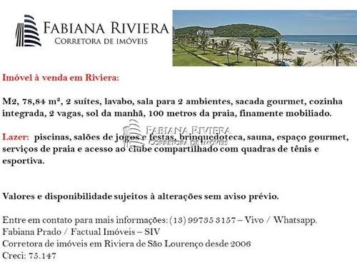 ap. em riviera - 2 suítes- m2- 150 m do mar