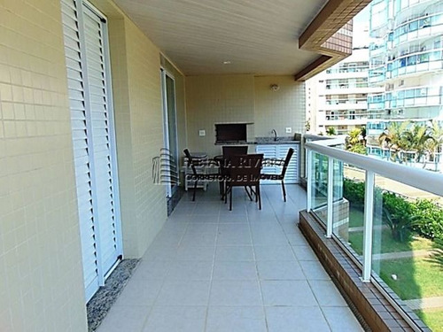 ap. riviera - 113 m² - m7 - 3 dorms(1suíte) - pé na areia