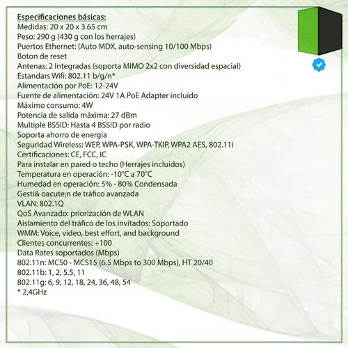 ap unifi-lr ubiquiti wifi 180 mts 2.4 ghz long range 300mbps