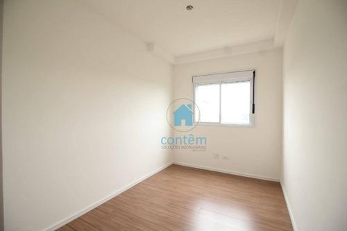 ap1468 - apartamento com 2 dormitórios à venda, 54 m² por r$ 250.000 - jardim ana estela - carapicuíba/sp - ap1468