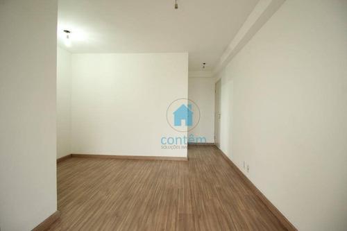 ap1483- apartamento com 2 dormitórios para alugar, 57 m² por r$ 1.248/mês - km 18 - osasco/sp - ap1483