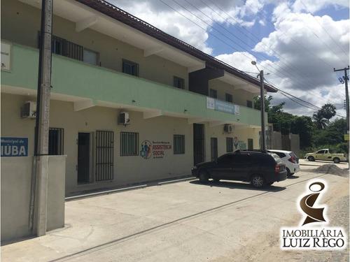 ap1645- apartamento no centro de guaiúba, 2 quartos, 1 vaga.