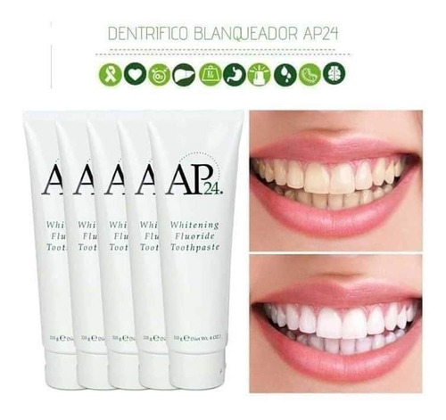 ap24° pasta dental blanqueadora
