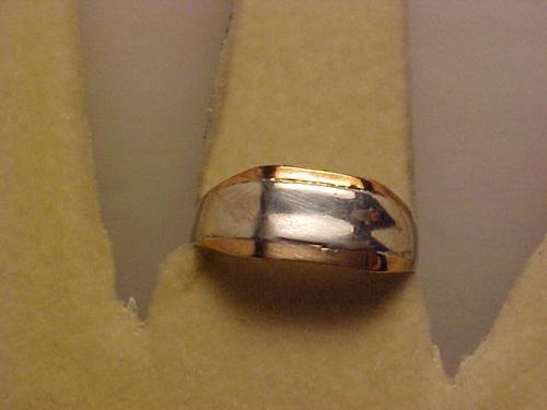 @@ap43200122st - anel em prata com detalhes dourados