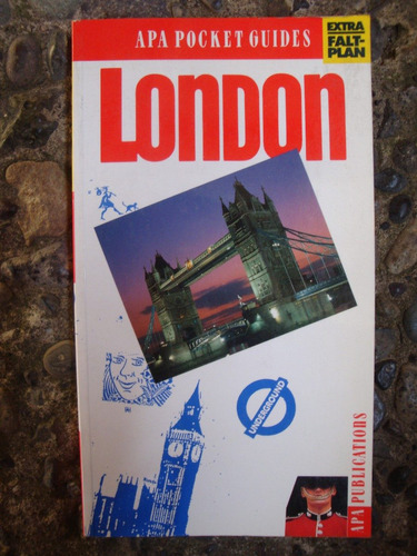 apa pocket guides london / londres