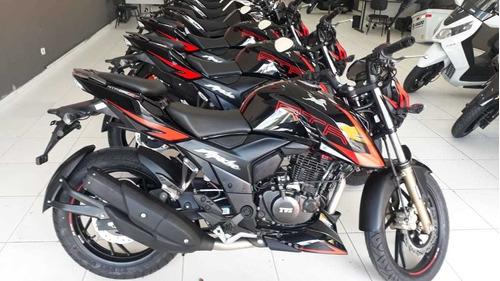 apache 200 rtr 2020 - pronta entrega só na amaro motos