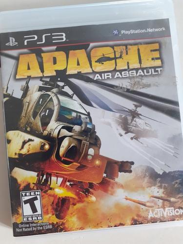 apache air assault playstation 3 fisico tomo juegos. mp y me
