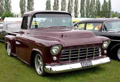 Apache Chevrolet Pick Up Biceles Cromados 1955 1956 1957