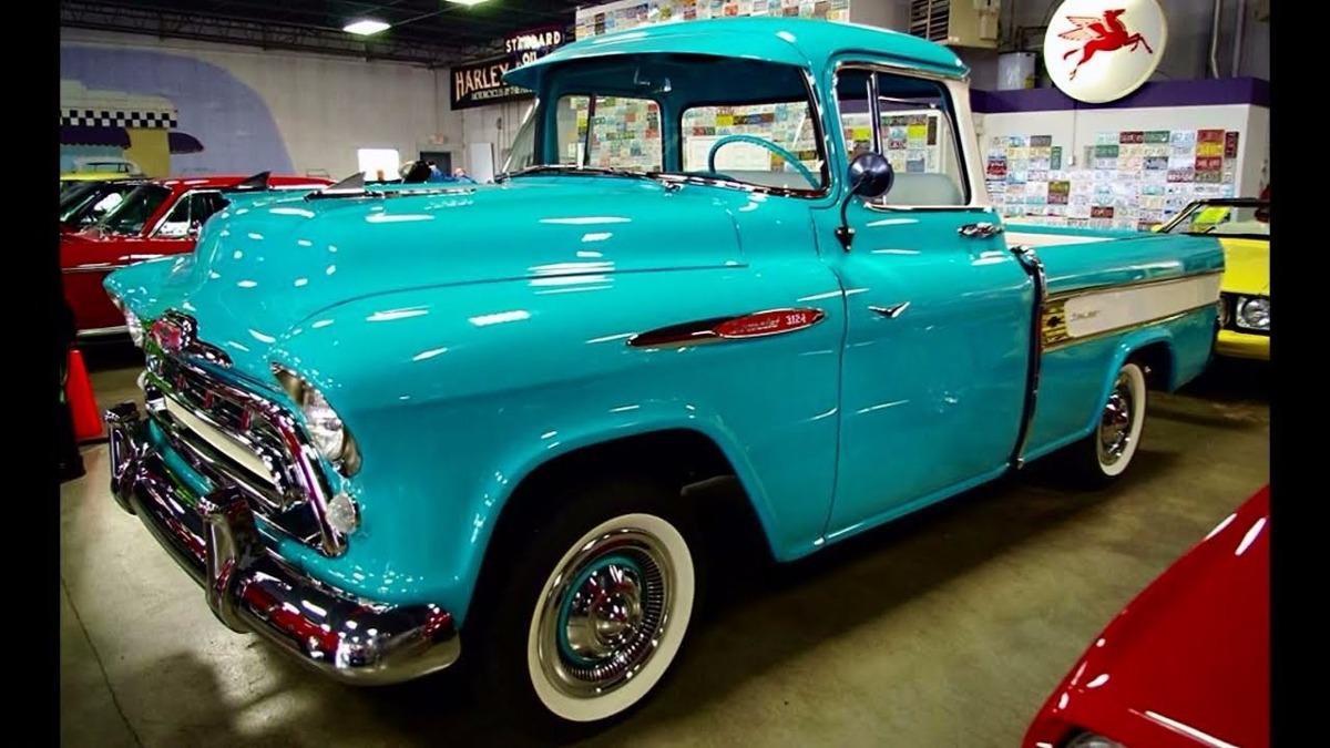 Apache Chevrolet Pick Up Biceles Cromados 1955 1956 1957
