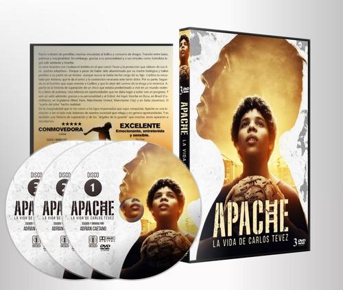 apache: la vida de carlos tevez - miniserie completa c/ subt