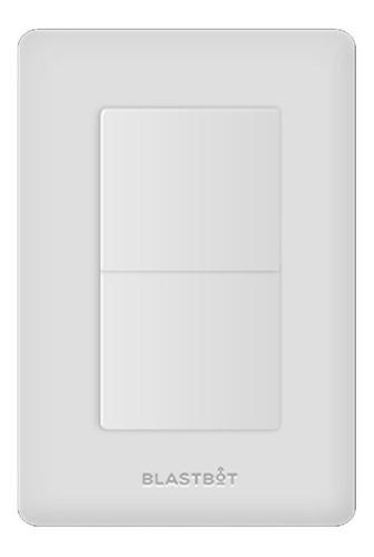 apagador inteligente smart switch blanco 2 botones blastbot